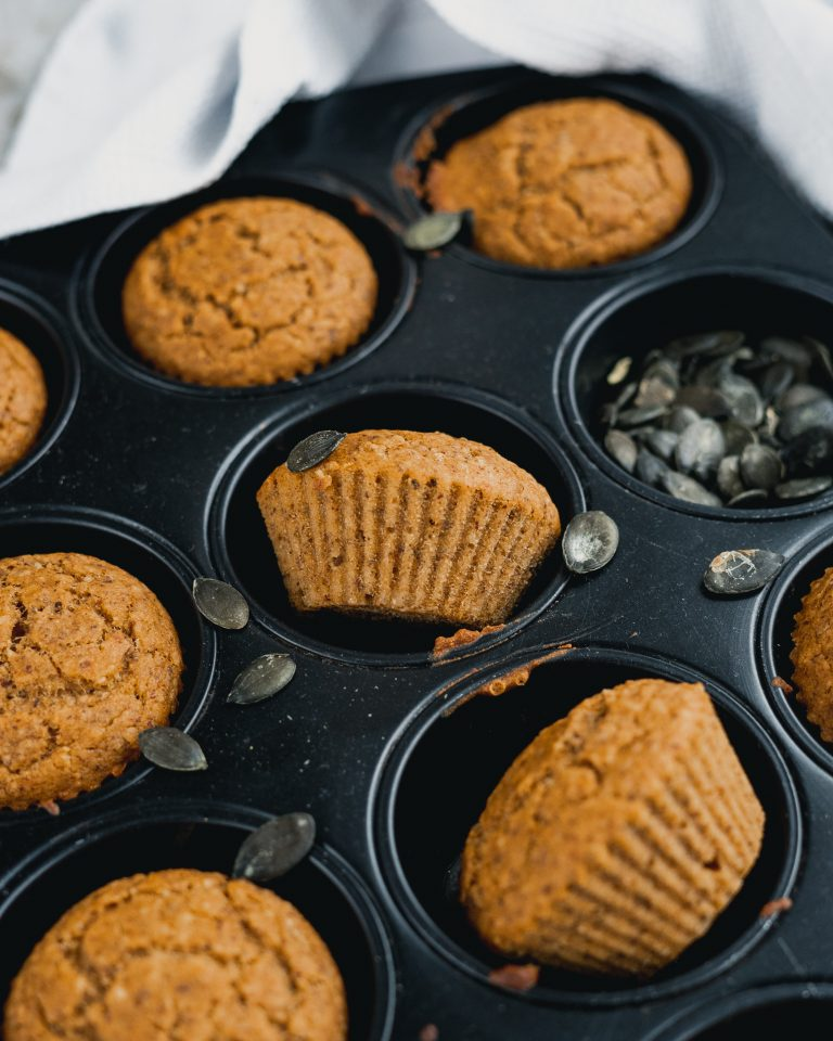 Kuerbis Muffins Form