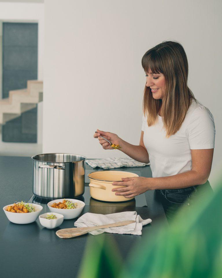 Kürbis Curry kochen